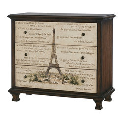 Hammary - Hammary Hidden Treasures Eiffel Tower Chest - Eiffel tower chest belongs to Hidden Treasures collection by Hammary