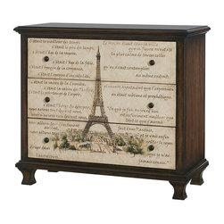Hammary - Hammary Hidden Treasures Eiffel Tower Chest - Eiffel tower chest belongs to Hidden Treasures collection by Hammary