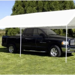 "King Canopy 10 x 20 ft. Universal Canopy - About King CanopyIn 1940, King Canopy started as a small family business in North Carolina. Since then, King Canopy has been providing customers with high quality outdoor covers, including canopies and cabanas, as well as other recreational covers and canopy products. These sturdily constructed products span a variety of uses, including providing shade and shelter for areas such as patios and greenhouses, to events such as parties and flea markets. Moreover, King Canopy's covers aptly protect cars, trucks, recreational vehicles, boats, and jet skis; they may also serve as a free-standing temporary carport, dock house, gazebo, or garage. With a mission """"to provide high quality, innovative outdoor leisure and sports products that offer tremendous value to our customers,"""" King Canopy remains committed to their values of family and honesty, and producing top-quality products."