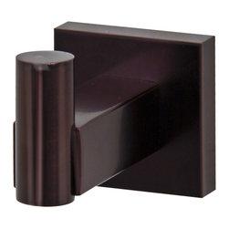 VIGO Industries - VIGO Allure Square Design Single Hook, Oil Rubbed Bronze - The VIGO Allure Square Design Single Hook in Oil Rubbed Bronze allows your favorite clothing to be neatly hung.
