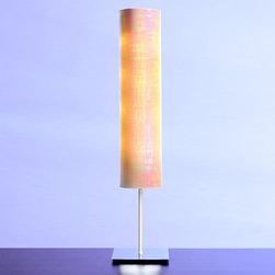 Hampstead Lighting - Iris Beige 36 Floor Lamp - Iris Beige 36 Floor Lamp