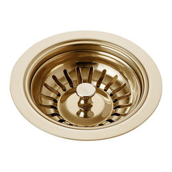 Delta Flange and Strainer - Kitchen Sink - 72010-PB - Fashion doesn't end with where you draw your water; it's about everything in your home. Brizo offers a range of accessories to perfectly complement your Brizo faucet-and elevate any environment into something truly special.