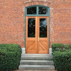 Custom Doors - Genuine Mahogany Door