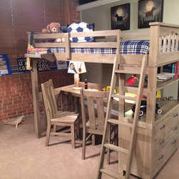 Kid's Furniture - Totally Kids fun furniture & toys trendy loft bed