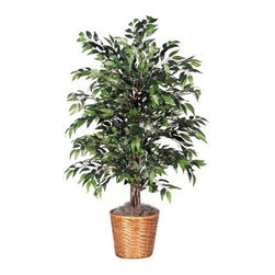 4 ft. Green Smilax Bush - About VickermanThis product is proudly made by Vickerman, a leader in high quality holiday decor. Founded in 1940, the Vickerman Company has established itself as an innovative company dedicated to exceeding the expectations of their customers. With a wide variety of remarkably realistic looking foliage, greenery and beautiful trees, Vickerman is a name you can trust for helping you create beloved holiday memories year after year.