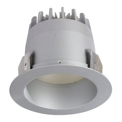 """Nora Lighting - Nora NTR-4LED 4"""" LED Platinum Trim, Self Flanged Reflector - Nora Lighting's family of 4"""" LED Platinum Trims offers affordable solutions for new technology along with energy savings.*Housing sold separately*"""