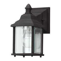 """Dolan Designs - Dolan Designs 930 Charleston 1 Light 9"""" Height Outdoor Wall Sconce - Features:"""