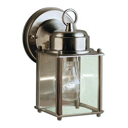 "Kichler - Kichler 9611SS No Family Collection 1 Light 8"" Outdoor Wall Light - Product Features:"