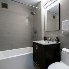 Modern Bathroom by J.Costa Construction