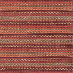 "Jaipurrugs - Cotton/Jute Red/Red Croydon Rectangle Area Rug Border Color Marsala 24"" x 40"" - Naturals Solid Pattern Cotton/ Jute Red/Red Croydon Rectangle Area Rug Border Color Marsala 24"" x 40""."