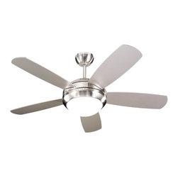 """Monte Carlo Fan - Monte Carlo Fan Discuss II 44"""" Transitional Ceiling Fan X-DSB44ID5 - Monte Carlo Fan Discuss II 44"""" Transitional Ceiling Fan X-DSB44ID5"""