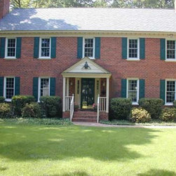 The Classic Brick Traditional Home -