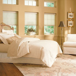 """BlindSaver Advantage 2"""" Light Filtering Window Shadings - Both formal and casual, beautiful and functional, the BlindSaver Vienna shades are perfect for any room in your house. The Vienna is comprised of fabric semi-opaque vanes between two sheers and is operated by a standard continuous cord loop system. You will enjoy the versatility of a horizontal blind with the beauty and simplicity of a fabric shade."""