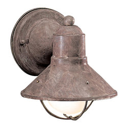 Kichler Lighting - Kichler Lighting 9021OB Seaside Olde Brick Outdoor Wall Sconce - 1, 60W Medium
