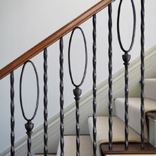 Traditional Staircase by John Toates Architecture and Design
