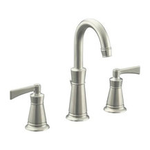 Kohler kohler k 11076 4 bn archer bathroom sink faucet for Craftsman style kitchen faucets