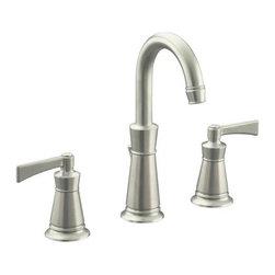 """KOHLER - KOHLER K-11076-4-BN Archer Bathroom Sink Faucet with 8"""" Centers - KOHLER K-11076-4-BN Archer Bathroom Sink Faucet with 8"""" Centers in Vibrant Brushed Nickel"""