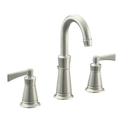 "KOHLER - KOHLER K-11076-4-BN Archer Bathroom Sink Faucet with 8"" Centers - KOHLER K-11076-4-BN Archer Bathroom Sink Faucet with 8"" Centers in Vibrant Brushed Nickel"