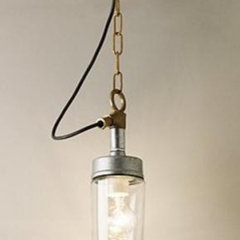eclectic pendant lighting by hollowaysofludlow.com