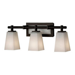 Murray Feiss - 3 Bulb Vanity - - UL Damp Approved.