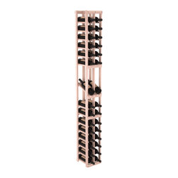 Wine Racks America - 2 Column Display Row Wine Cellar Kit in Redwood, White Wash + Satin Finish - Make your best vintage the focal point of your wine cellar. High-reveal display rows create a more intimate setting for avid collectors wine cellars. Our wine cellar kits are constructed to industry-leading standards. You'll be satisfied. We guarantee it.