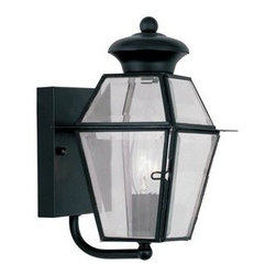 Livex Lighting Inc - Livex Westover Outdoor Wall Lantern Black -2180-04 - Livex products are highly detailed and meticulously finished by some of the best craftsmen in the business.