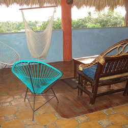 Acapulco Outdoor Chair by Innit Designs - Beautiful Tropical inspired outdoor chair by Innit Designs