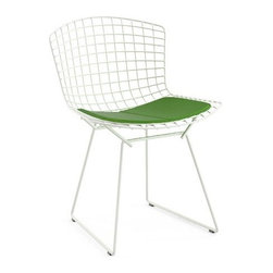 Knoll - Knoll | Bertoia Side Chair with Seat Cushion, Outdoor - Design by Harry Bertoia, 1952.