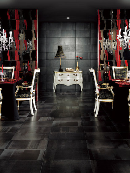Eclectic Wall And Floor Tile by TAU