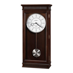 HOWARD MILLER - Howard Miller Kristyn Triple Chime Contemporary Wall Clock - This wall clock is part of the Ty Pennington Collection.