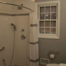 Contemporary Bathroom by DJ's Home Improvements