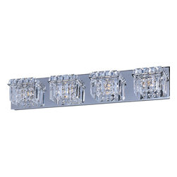 "ET2 - ET2 E23254 Bangle 27.25"" Wide 4-Bulb Bathroom Light Fixture - Product Features:"