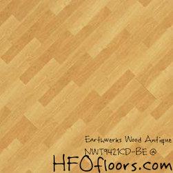 Earthwerks Wood Antique Beveled Edge Plank - Earthwerks Wood Antique, NWT9421CD-BE. Available at HFOfloors.com.