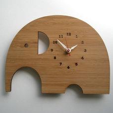 Modern Kids Clocks by fawn&forest