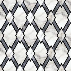 Contemporary Floor Tiles by Artsaics Studios