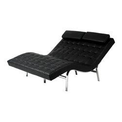 Euro Style - Euro Style Valencia-2 Lounge Chair X-17040 - Euro Style Valencia-2 Lounge Chair X-17040