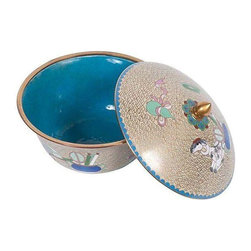 Modernist Cloisonne Bowl from China - $325 Est. Retail - $200 on Chairish.com -