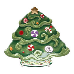 """ATD - Set of 4 Christmas Tree with Candy Decoration Design Desert Plate, 8"""" - This gorgeous Set of 4 Christmas Tree with Candy Decoration Design Desert Plate, 8"""" has the finest details and highest quality you will find anywhere! Set of 4 Christmas Tree with Candy Decoration Design Desert Plate, 8"""" is truly remarkable."""