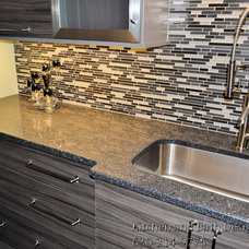 Contemporary Kitchen Countertops by Kitchen and Bath Design Store