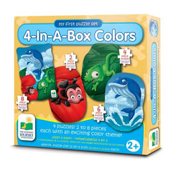 Learning Journey - Learning Journey My First Match It! 4-In-A-Box Colors - 633120 - Shop for Learning and Education from Hayneedle.com! The Learning Journey Step Ups! 4-In-A-Box Colors is a set of four puzzles perfect for teaching colors. Made specifically for tiny hands these puzzles help develop fine motor skills.About The Learning Journey InternationalThe Learning Journey designs and manufactures the finest in children's interactive educational toys and games. Each of the company's products develops and builds on necessary skills children need for school and beyond. The company has won a number of awards cementing the Learning Journey's reputation as one of the finest designers and distributors of educational toys in the United States -- and worldwide.