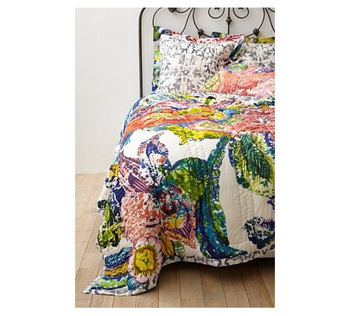 Anthropologie - Roseland Quilt - *Part of our Hothouse Quilt collection