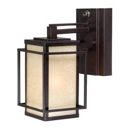 Vaxcel Lighting - Vaxcel Lighting RB-OWD050 Robie 1 Light Outdoor Wall Sconce - Features: