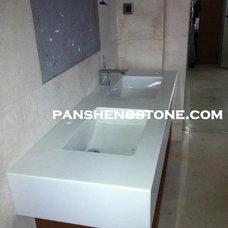 Modern Bathroom Countertops by Nanoglass
