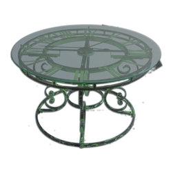 Uttermost - Gilbertine Clock Table - Gilbertine Clock Table