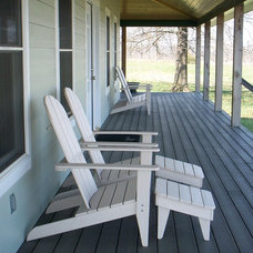 Traditional Outdoor Chairs by Green Forest Composites