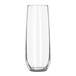 Libbey Glass - STEMLESS FLUTE|8.5OZ 12/CASE - CAT: Smallwares & Equipment Glassware Wine/Champagne Glass