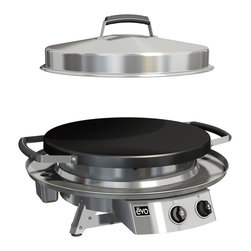 Evo, Inc. - Evo Tailgater Grill - Circular Flattop Grill Designed For Home Or On The Road