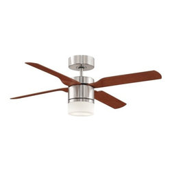 "Fanimation - Fanimation Multimax 52"" 4, 3, or 2 Blade Ceiling Fan - Blades, Light Kit, & Re - Included Components:"