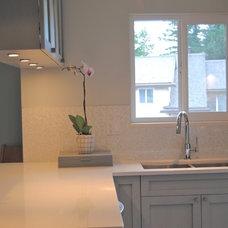 Traditional Kitchen by Corey Klassen Interior Design