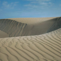 """Paracus 1"" Artwork - Desert landscape in paracus national park, peru"